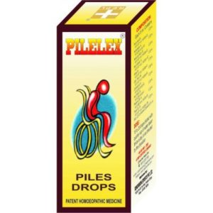 Homeopathic Medicine for Relief from Painful and Bleeding Piles, Constipation, Burning Anus - REPL Pilelex Drops (30ml)