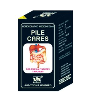Homeopathic Medicine for Piles & Hemorrhoids - PILE CARES