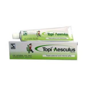 Homeopathic Medicine for Piles & Hemorrhoids - TOPI AESCULUS CREAM